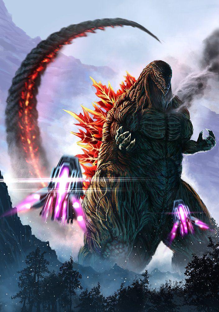 Godzilla Anime Godzilla funny, Kaiju monsters, Godzilla