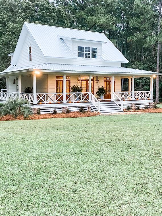 Cottage House Plan Variation 1 - @cottonbluecottag