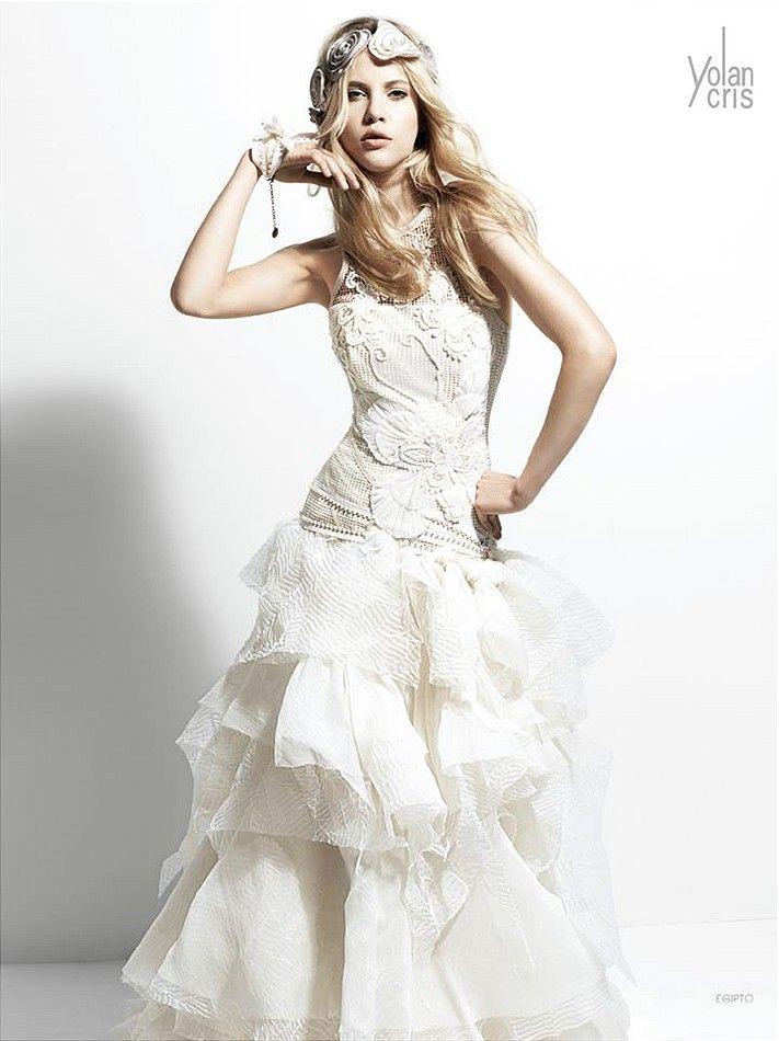 c63801d28bc Винтажные свадебные платья Yolan Cris. Линия Chelsea girl