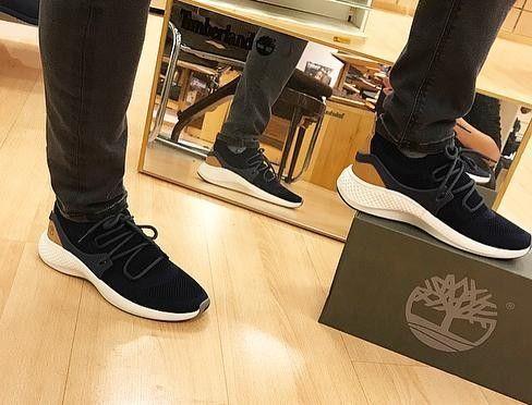 2019 TimberlandMen's In Go Frases Flyroam Knit Oxford Shoes gb6fY7Iyv
