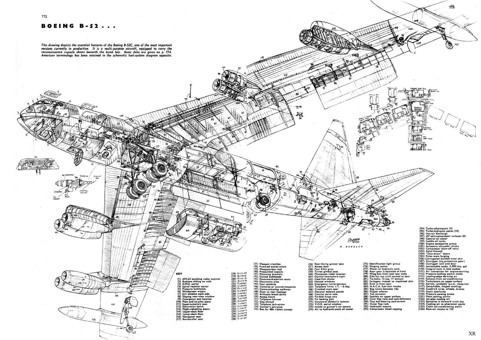 B-52 cutaway | Graphic/Typographic/Calligraphic | B 52 ...