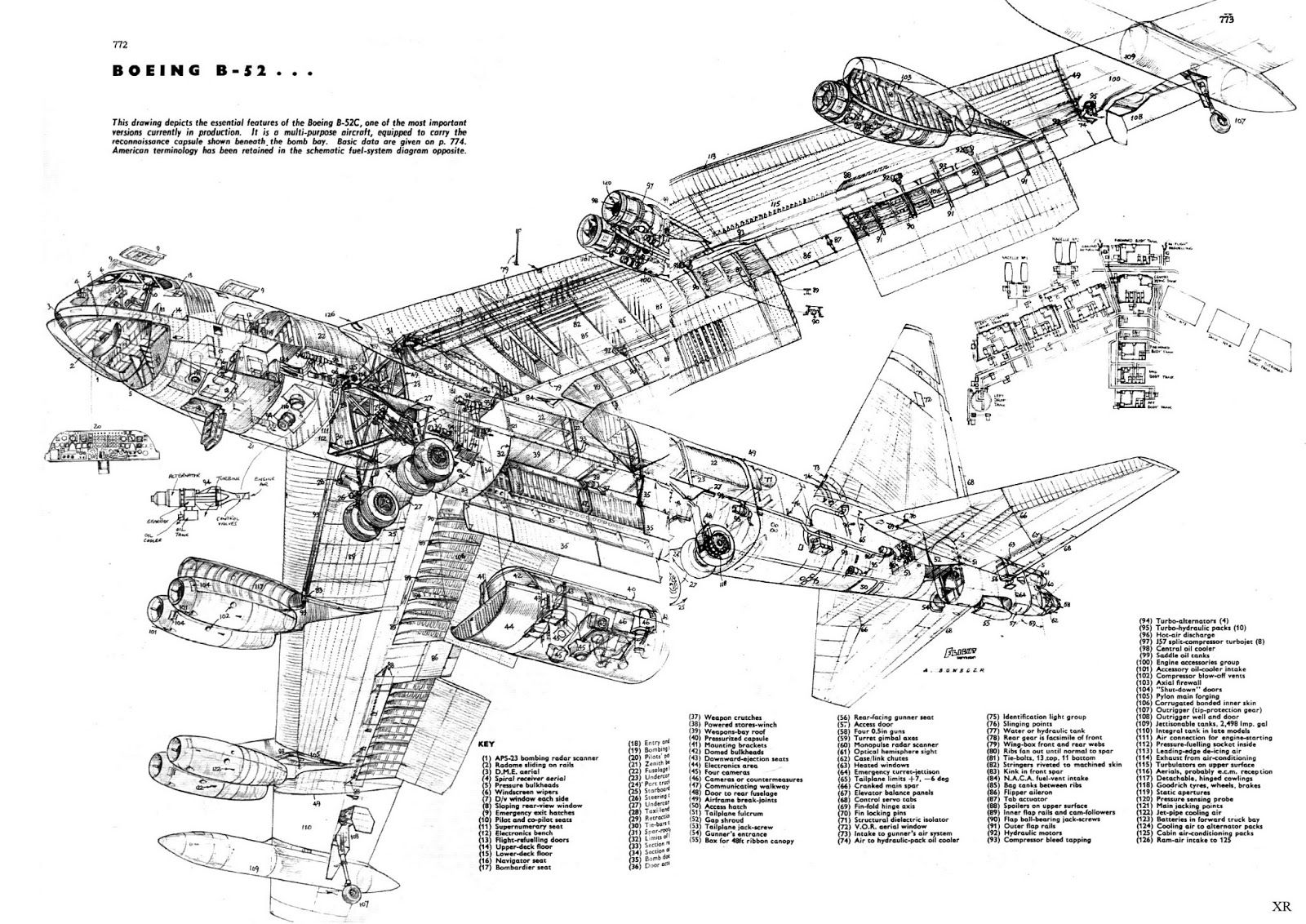 B 52 Cutaway