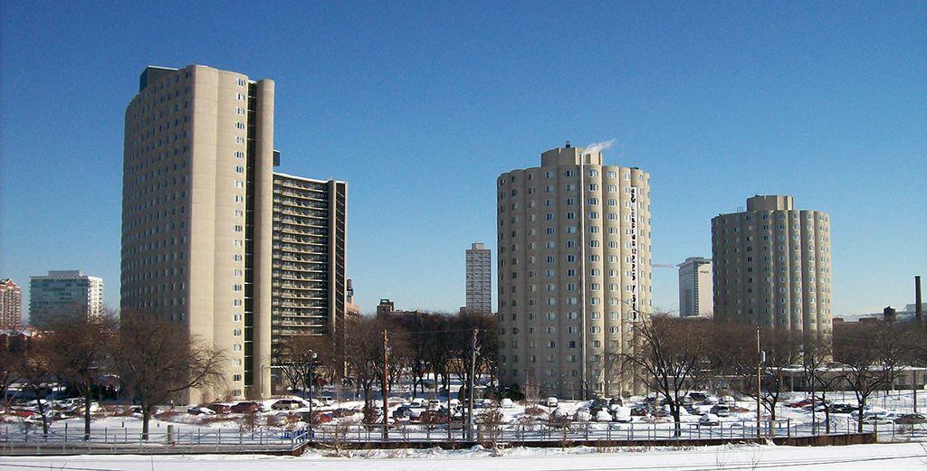 Raymond Hilliard Center High Rise Building Chicago Hilliard