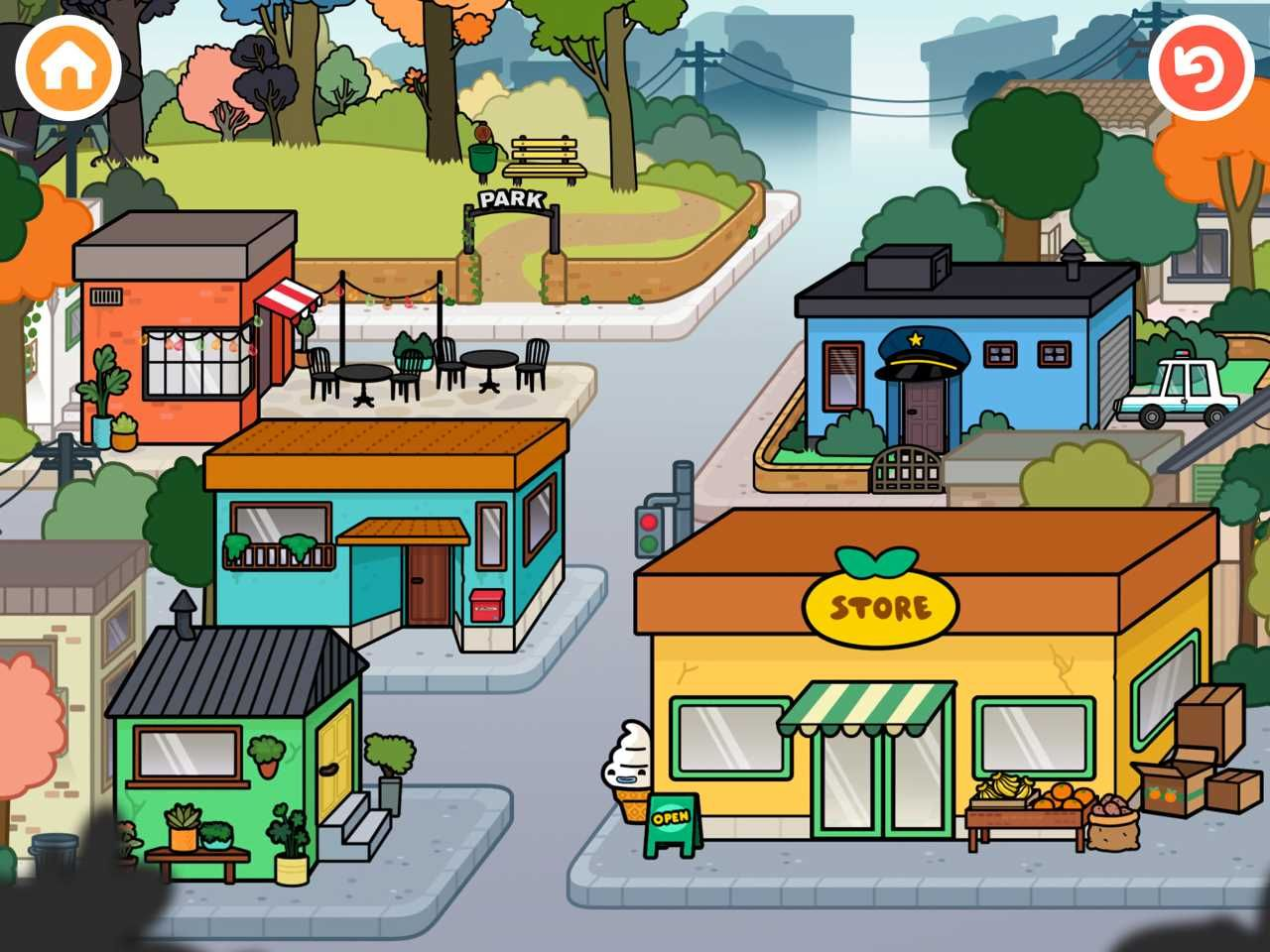 Toca Life Town Review Kids app, Best