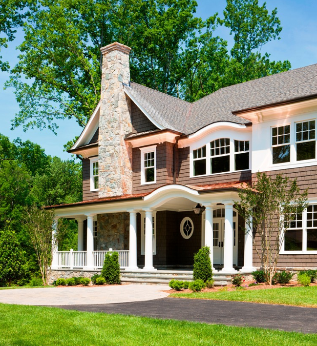 Traditional Contemporary House/Home | Traditional home ...