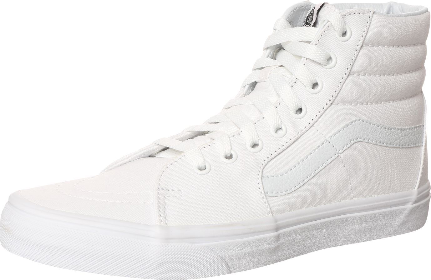 Sneaker Crush bei diesem Modell von Vans. Weiße Sneaker sind