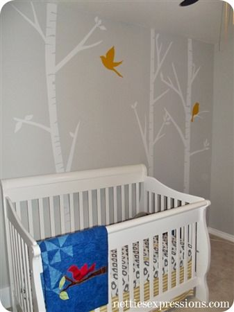 Nursery - Vinyl Wall Art | Custom Vinyl Decals and Wall Art Designed and Created by Netties Expressions |  © 2017 Netties Expressions | https://www.nettiesexpressions.com