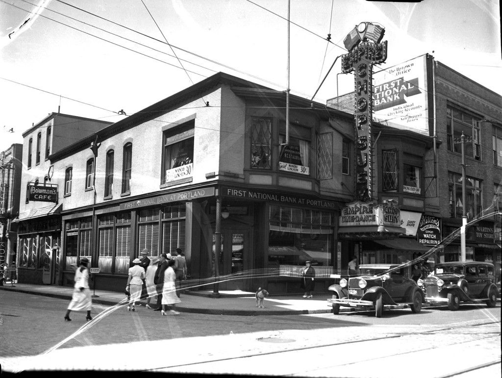 From The Archive Street Scenes From The Past The Portland Press Herald Maine Sunday Telegram Jacksonville Oregon Portland Ashland Oregon