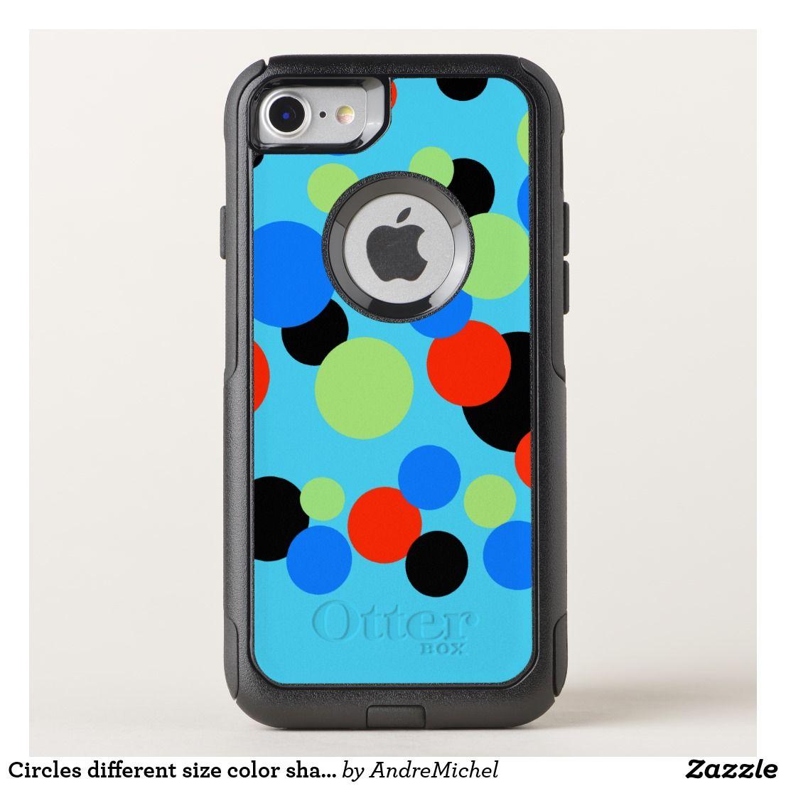 Circles different size color shape pattern art otterbox