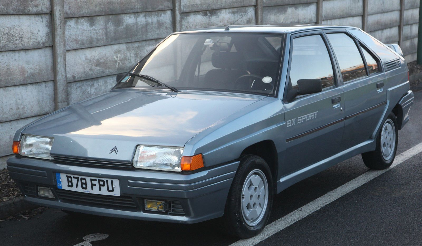 CITROEN BX SPORT 1985 the only one on the road in the UK