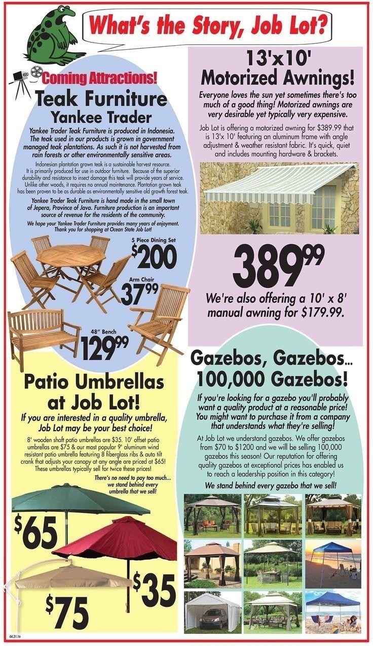 Ocean State Job Lot Patio Furniture - Ocean State Job Lot Patio Furniture Patio Decor Pinterest