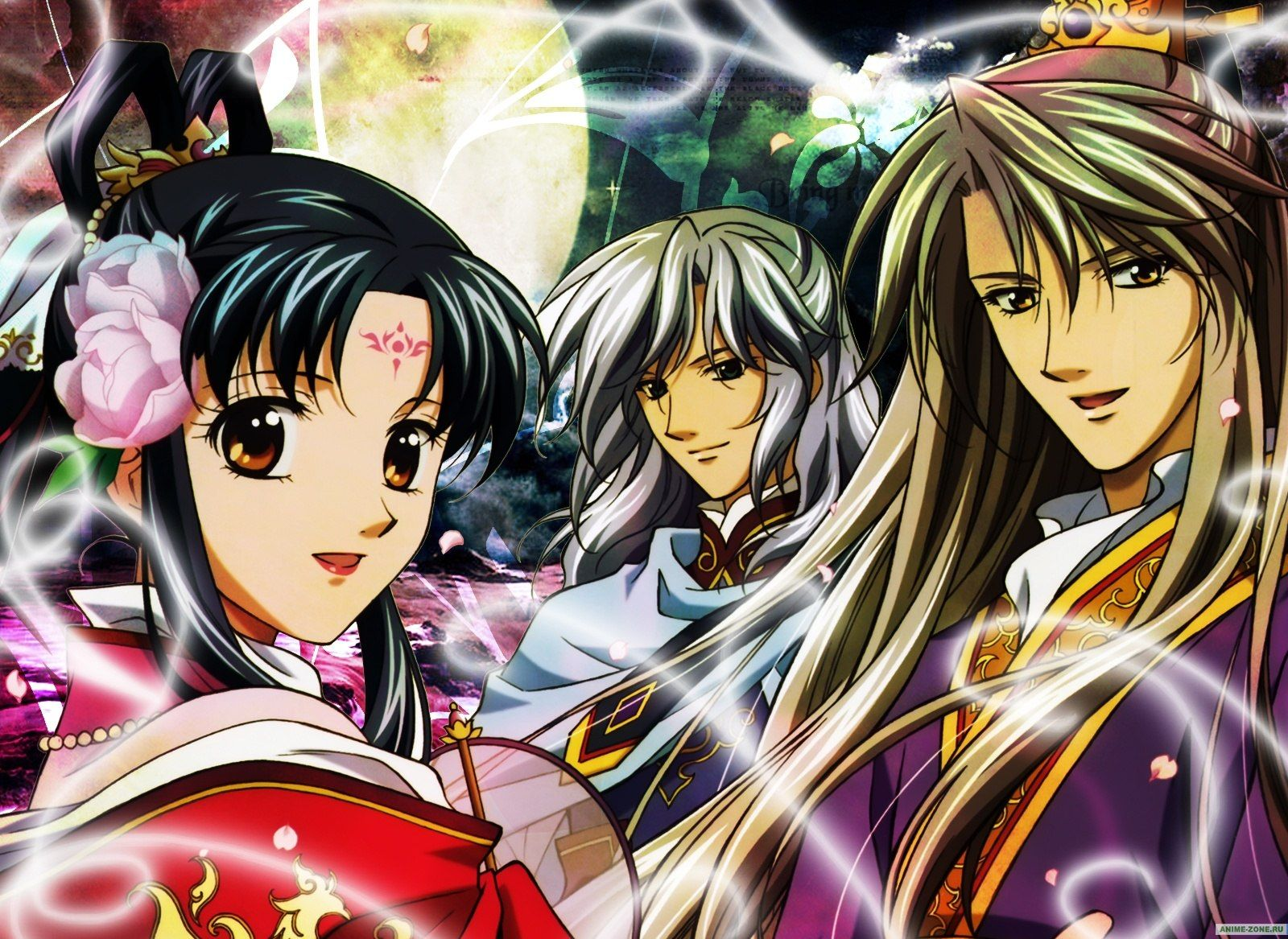 AnimeZone. Аниме обои к The Story of Saiunkoku (первый