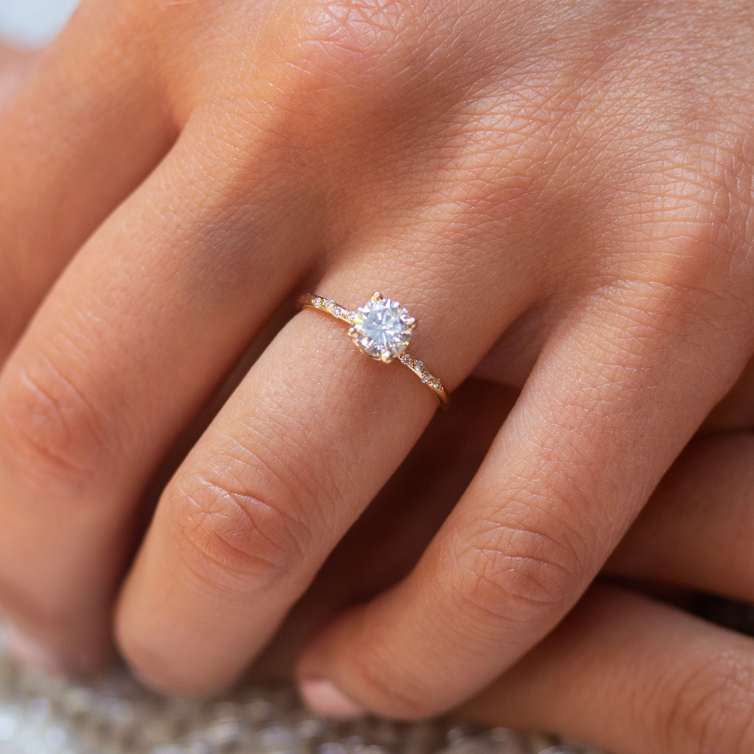 That Starry Sparkle #aquamarineengagementring