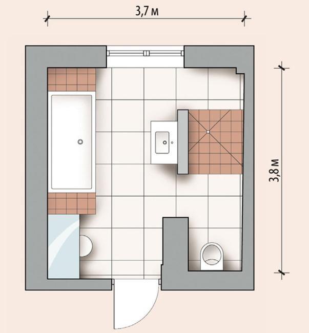 Modern Bathroom Plans Personalized modern bathroom design created by ergonomic space layout plans for modern bathroom remodeling and redesign sisterspd