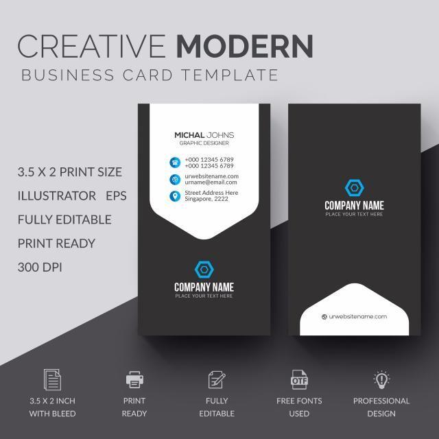 창의 명함 Business Cards Creative Business Cards Creative Templates Business Card Design Creative