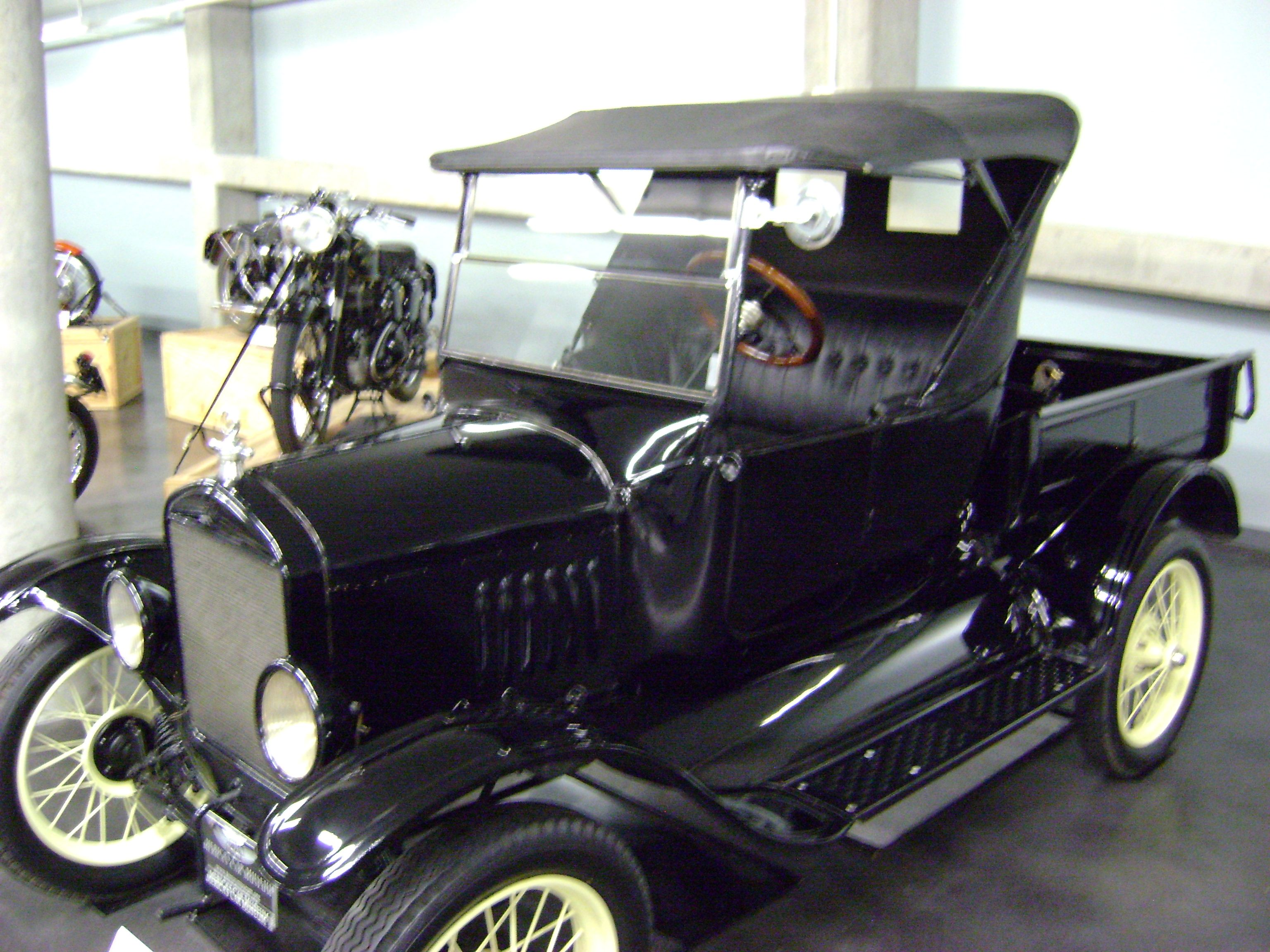 1924 ford model t roadster pickup photo taken at lemay museum in tacoma wa