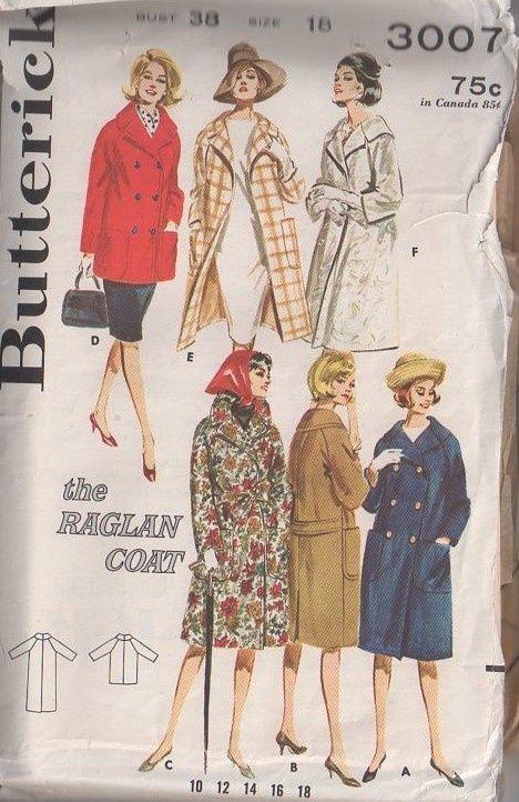 1323 1960s Vintage Sewing Pattern B38 DRESS