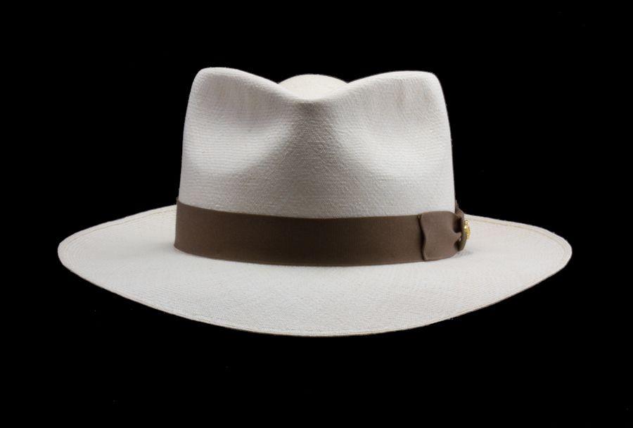 2ea09c752 Men's Montecristi Panama Hat Styles — Brent Black Panama Hats. If ...