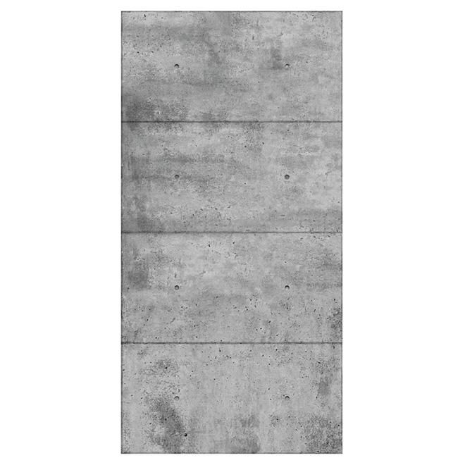 Panneau Mural Mur Design Aspect Beton 1 4 X 48 X 96 Panmi48tih Reno Depot In 2020 Concrete Wall Panels Wall Paneling Concrete