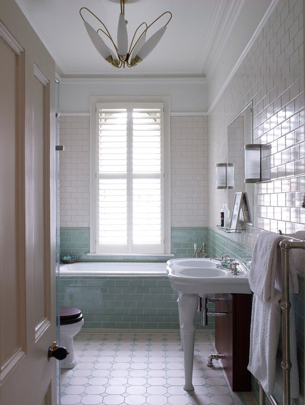 Jamie Theakston\'s bathroom inspired by the Gents at Lord\'s ...