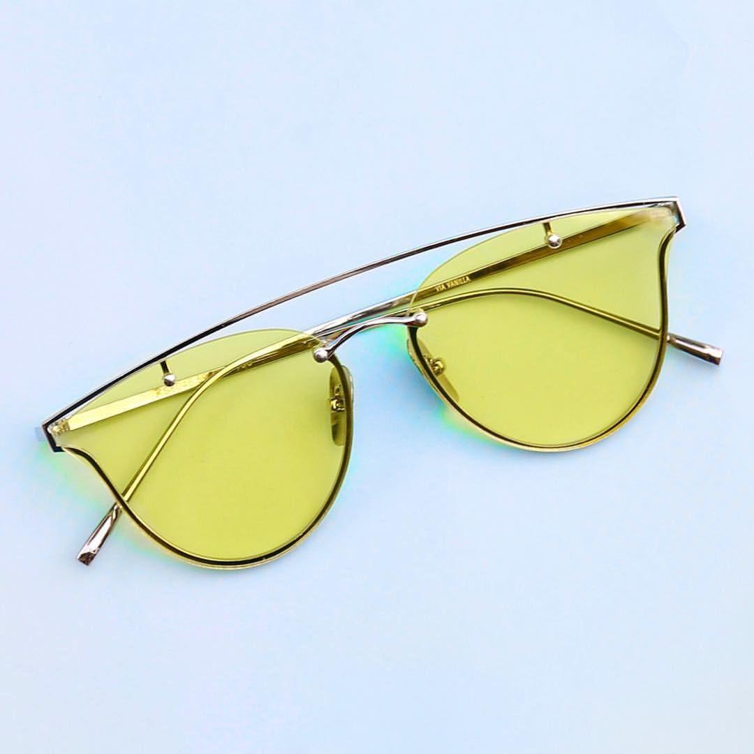 c002f2c82b Via Vanilla I Lentes de Sol Sol Amarillo, Lentes Transparentes, Gafas De Sol ,