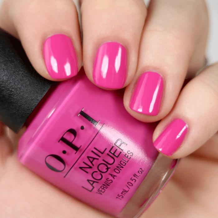 OPI No Turning Back From Pink Street #nails #nail art #nail #nail ...