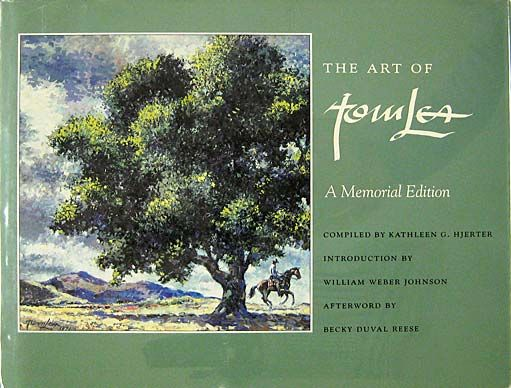 Do you know someone who loves Tom Lea's art or needs to be introduced to it? The Art of Tom Lea book makes a great Christmas gift! Call 915-533-0048 to order yours.