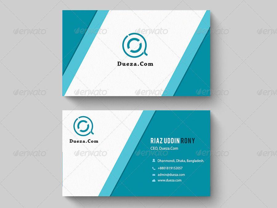Light Blue Business Card Ad Blue Sponsored Light Card Business Blue Business Card Professional Business Cards Business Cards
