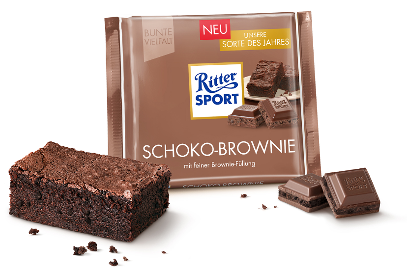 Ritter Sport Chocolate Brownie Chocolate Of The Year