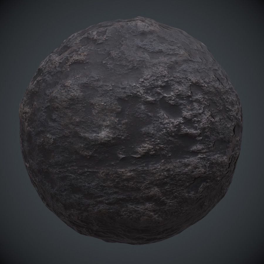 Rough Rockface 2 PBR Material Free textures, Game