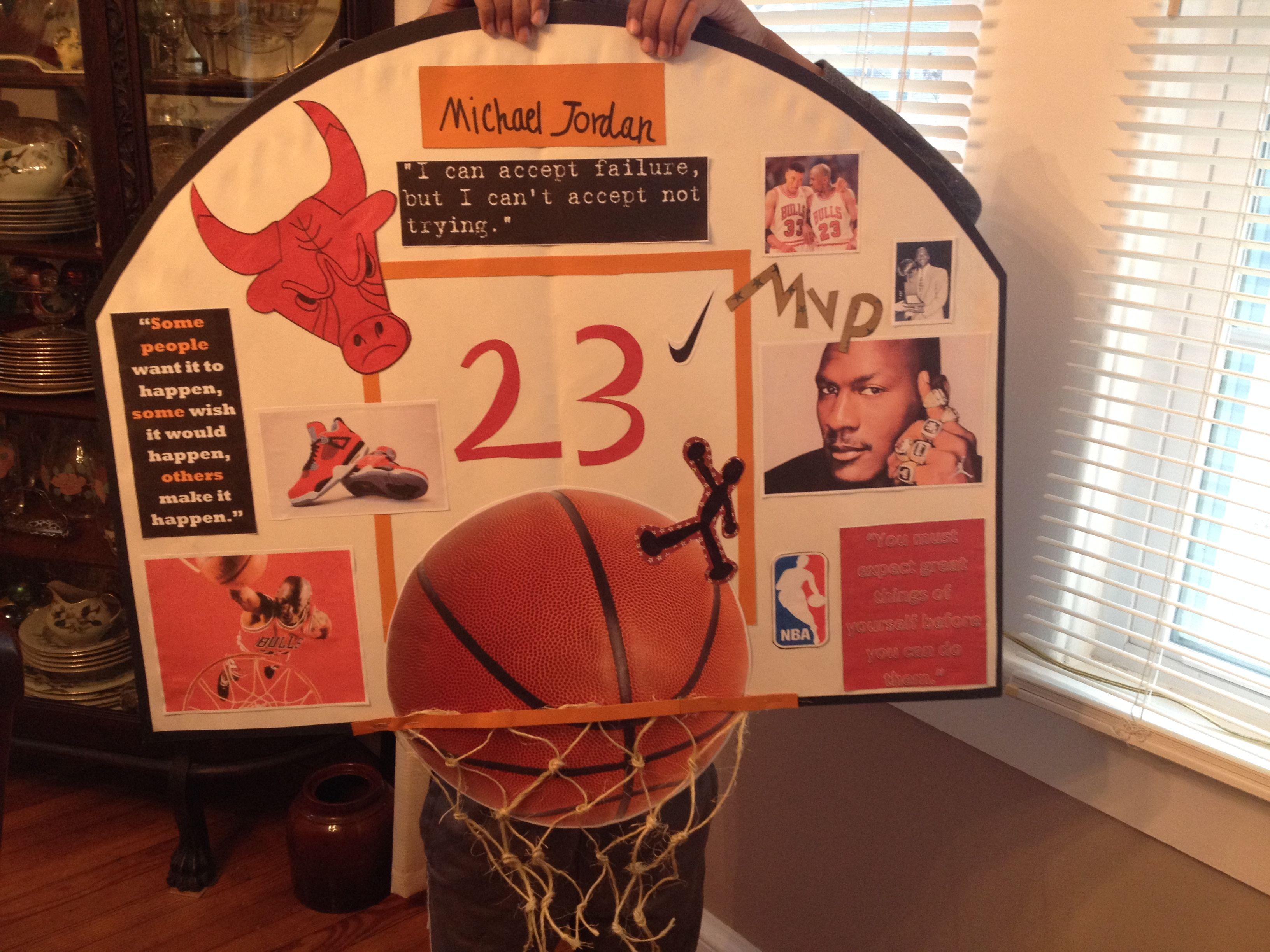 Michael Jordan Black History Month Poster