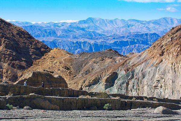 Title  Mosaic Canyon Picnic   Artist  Stuart Litoff   Medium  Photograph - Photograph
