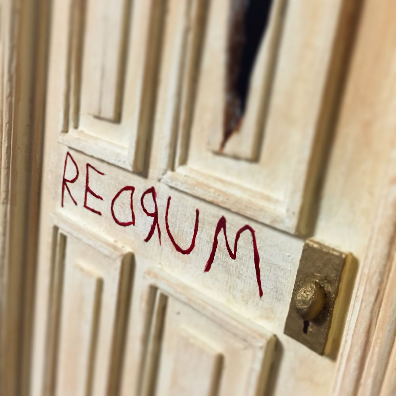 Custom 1/6 scale REDRUM door & Custom 1/6 scale REDRUM door | The Door Project | Pinterest