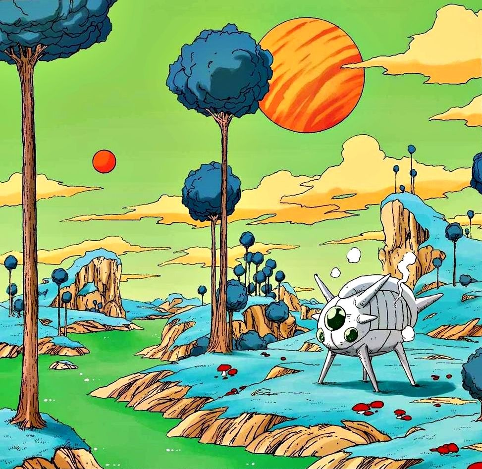 Planet Namek Dragon Ball Artwork Dragon Ball Goku Dragon Ball Wallpapers