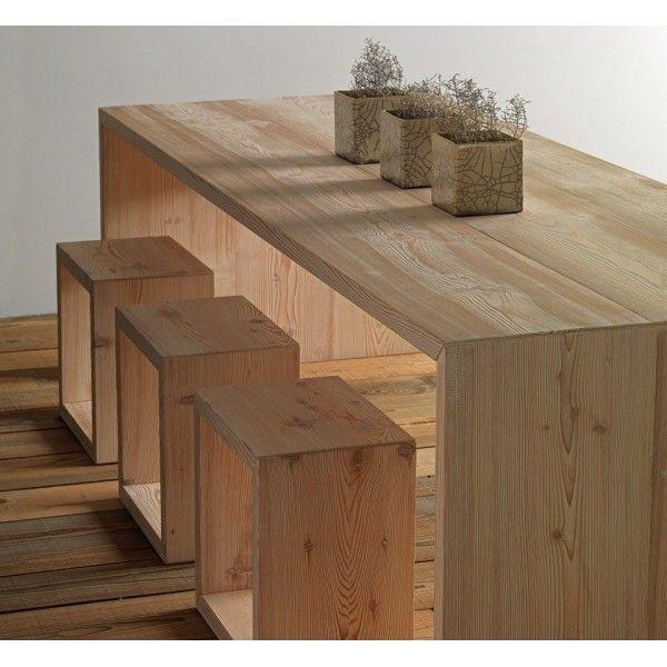 mesa comedor madera Carthago | decoraciones de hogar | Mesas de ...