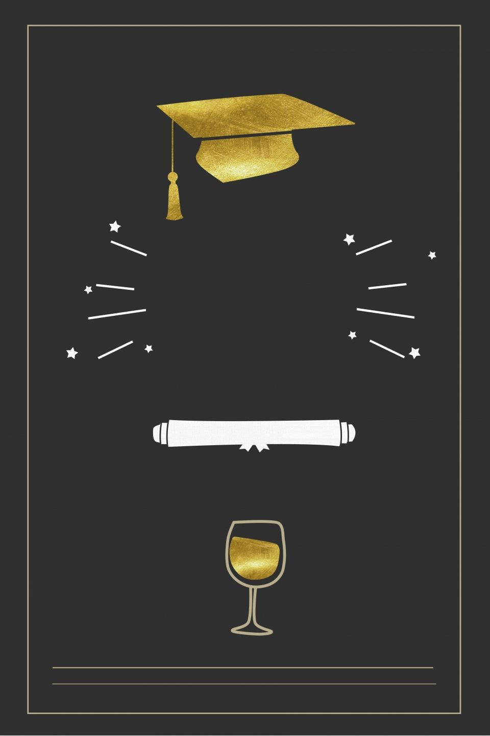 College Graduation Party Poster Background Template College Graduation Parties Graduation Poster Party Poster