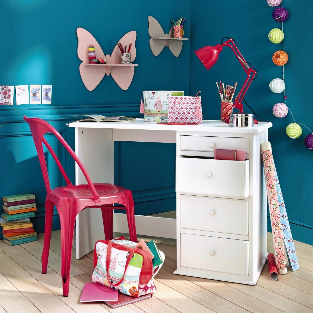 Lampe En Metal Rouge H 49 Cm Pinterest