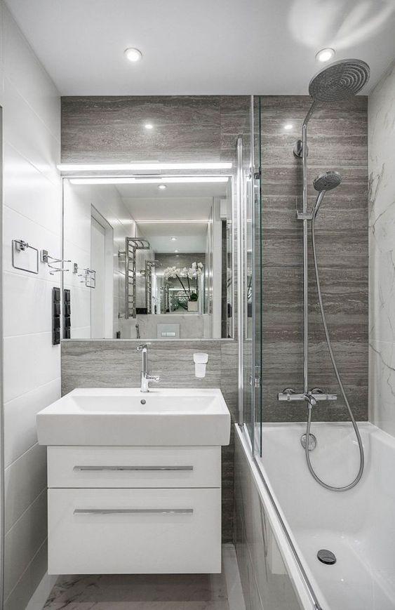 Come arredare un bagno piccolo 17 idee favolose arredo bagno piccolo small bathrooms - Spazio minimo per un bagno ...