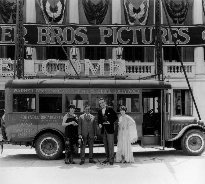 Warner Bros. Studios On Sunset Blvd.  1928