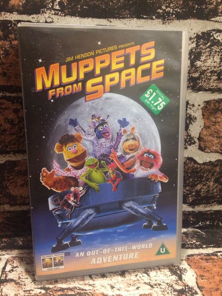 MUPPETS FROM SPACE VHS Video Tape RARE Collectable Ex ...