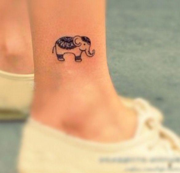 Good Luck Elephant Tattoo: Elephants Bring Good Luck & Happiness