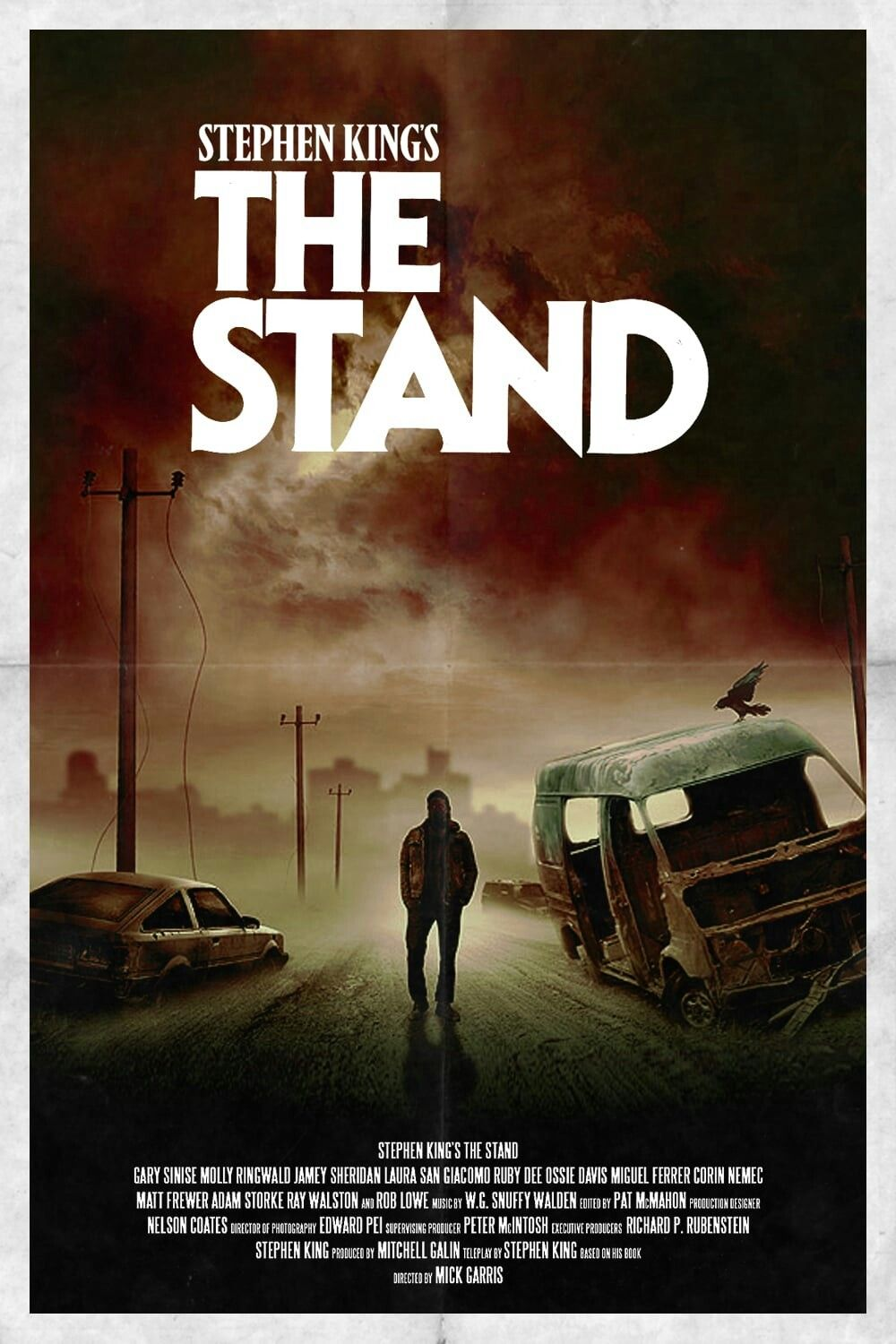 Stephen King S The Stand Tv Series Tv Series Posters Scififantasy Superheroes Animation Moviebuff Stephen King Stephen King Novels The Stand Stephen King