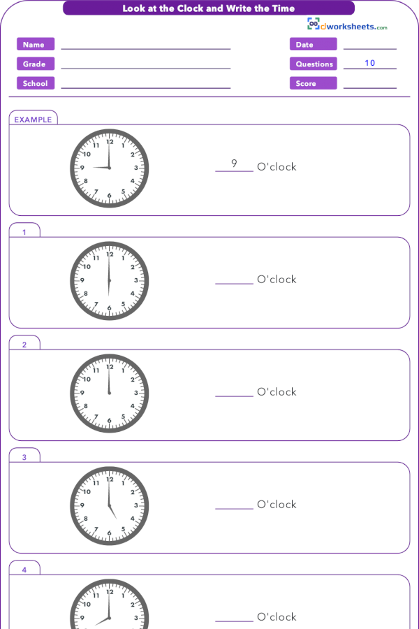 1 Md B 3 Look At The Clock And Write Time Common Core Math Worksheets 1st Grade Math Worksheets Third Grade Math Worksheets