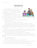 table-manners-third-grade-reading-comprehension-worksheet