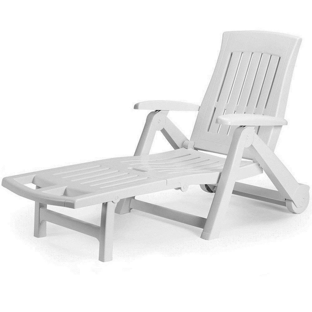 Garden sun lounger patio terrace furniture recliner