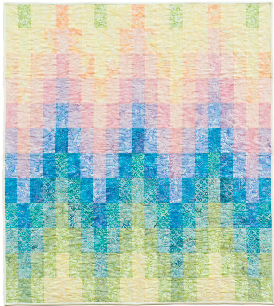 free pattern = Baby Bargello Quilt by Karen Montgomery for ... : quilt inspiration free patterns - Adamdwight.com
