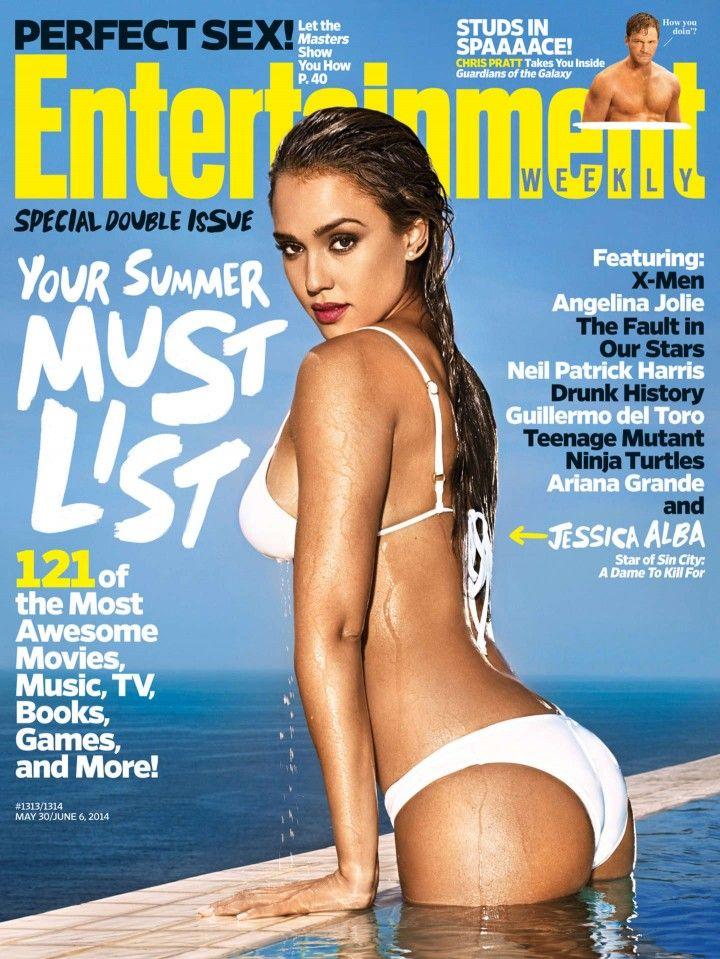 04e469830f Jessica Alba – Entertainment Weekly 2014 Cover