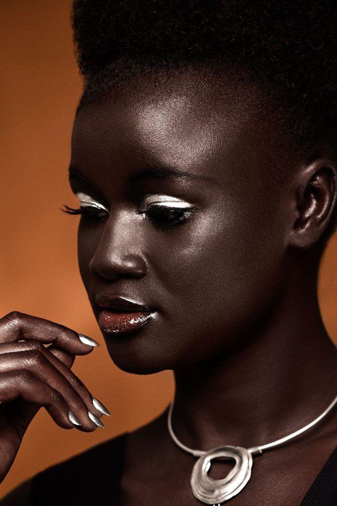 Khoudia Diop Senegal Beauties Pinterest Makeup