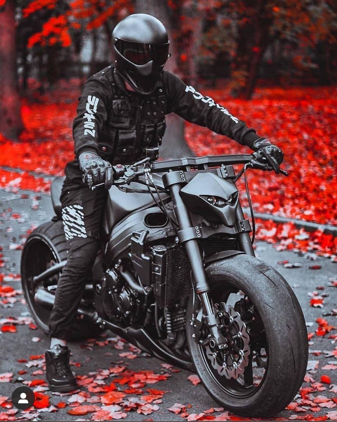 biker on
