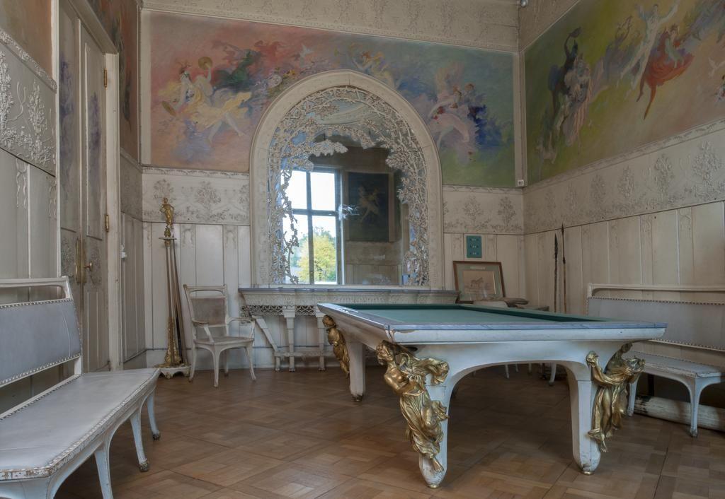 Evian les bains villa la sapini re f lix bracquemond salle du billard avec jules ch ret - Salle de sport evian les bains ...